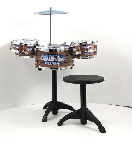 Bateria De Juguete Jazz Drum Para Niño Y Niña Linea
