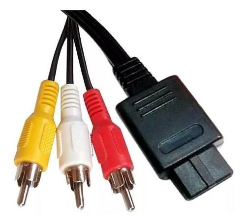 Cable Av Compatible Con Super Nintendo / N64 / Game Cube