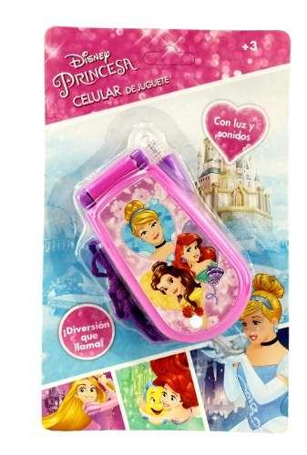 Celular De Juguete Disney Princesas Con Luz Y Sonido