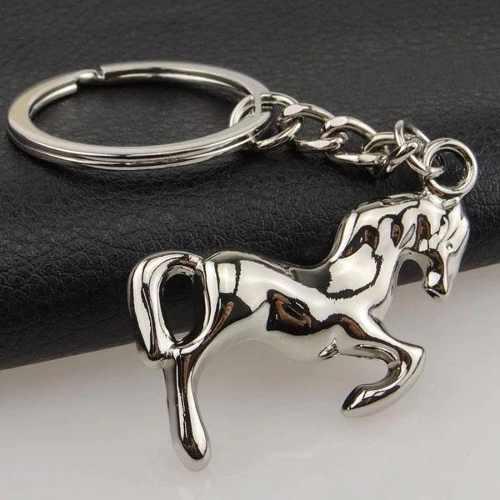 Llavero Caballo Fino Metal Charro Vaquero Equitación