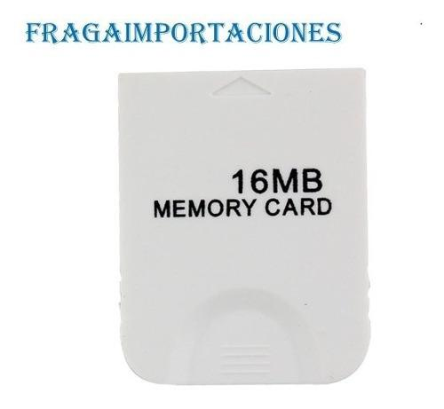 Memory Card Para Game Cube 16 Megas 251 Bloques