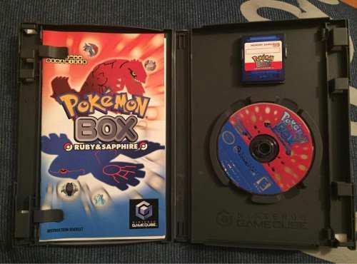 Pokemon Box: Ruby & Sapphire Gamecube