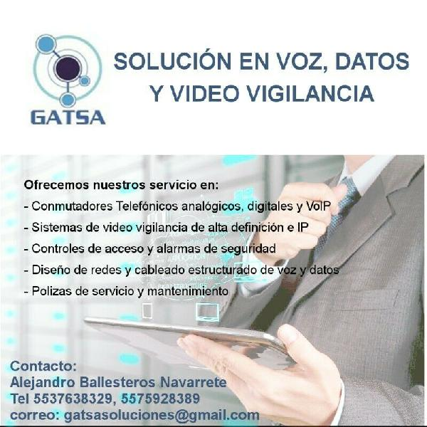 Servicios Conmutadores Telefónicos, Equipos de Video