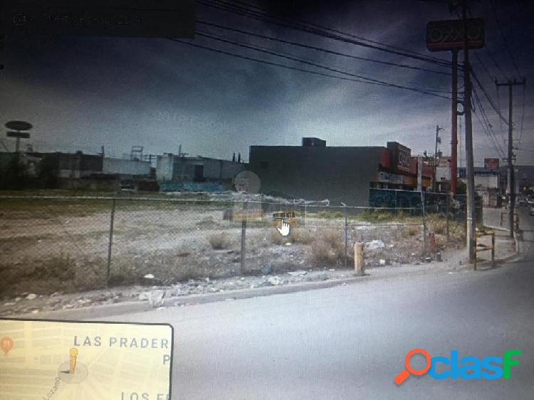 Terreno comercial en renta en Villa Sol, Apodaca, Nuevo