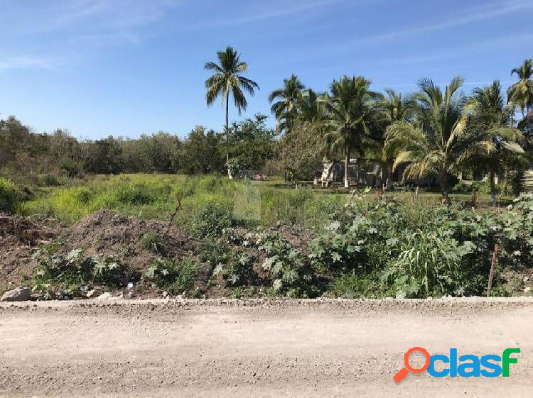 Terreno habitacional en venta en Matanchén (La Aguada), San