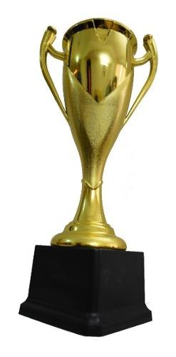 Trofeo Estatuilla Premio Torneo Copa Dorada Futball 29 Cm
