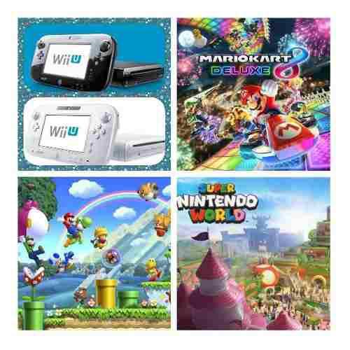Wii U 350 Juegos+5000 Clásicos, Wii, Gamecube,nes,snes Y