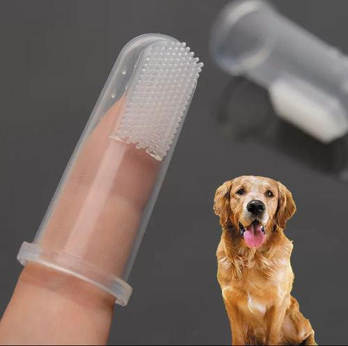 10pzs Cepillo Dientes Perro Y Gato,silicon, Suave Y Practico