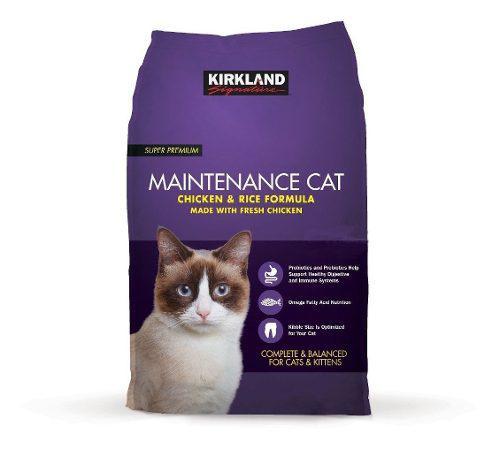 Alimento Para Gato Kirkland Fórmula De Arroz Y Pollo