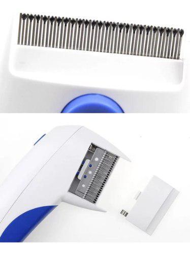 Cepillo Mata Saca Pulgas Electrocuta Pulgas Sin Lastimar
