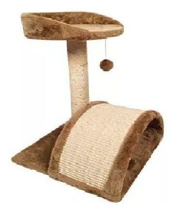 Mueble Rascador Para Gato 50 Cm Con Arco