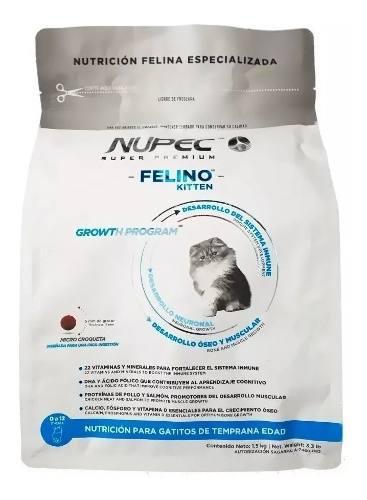 Nupec Kitten 3kg Caducidad 2020