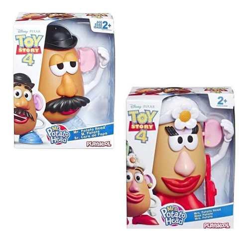 Señora Y Señor Cara De Papa Toy Story 4 2 Pack Playskook