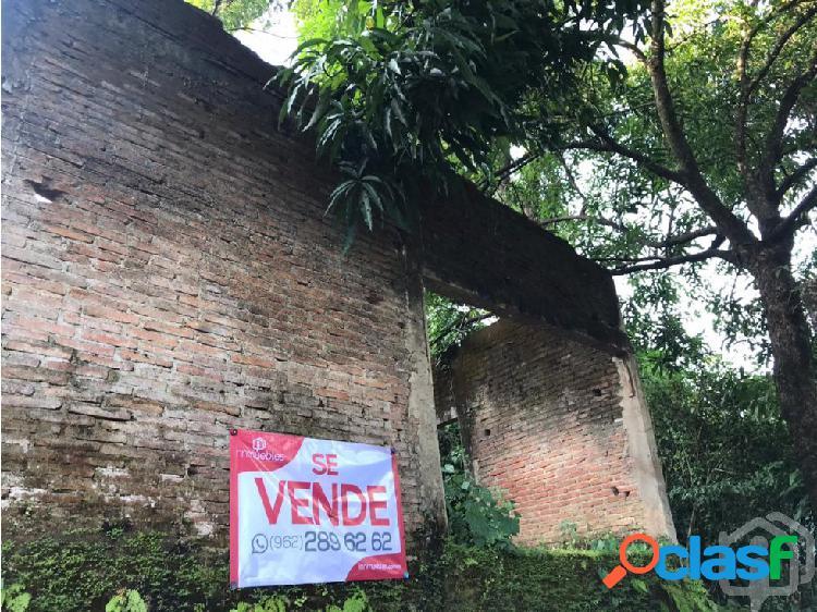 TERRENO EN VENTA EN EL PORVENIR, TAPACHULA