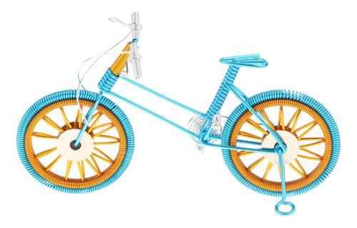 1:10 Modelo De Bicicleta De Montaña En Miniatura Hecho De