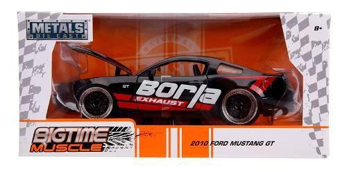 2010 Ford Mustang Gt Borla * Escala 1:24*