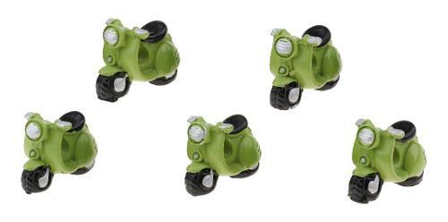 5 Pedazos Modelo Motor De Bicicleta Adornos Para Muñeca