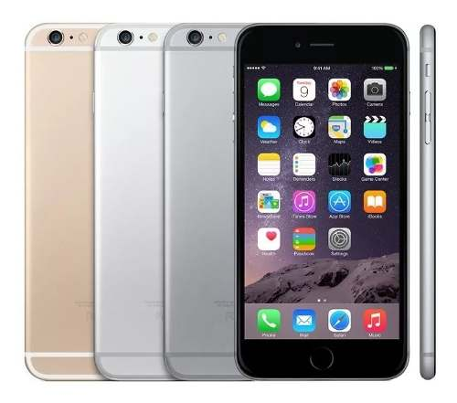 Apple iPhone 6 Plus 64gb Excelentes Accesorios Originales
