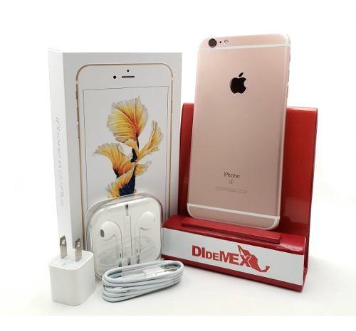 Apple iPhone 6s Plus 64gb Oro Rosa Libre Caja Y Accesorios