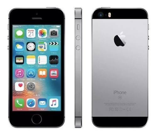 Apple iPhone Se 32 Gb Libre De Fabrica (negro) Buen Fin !!