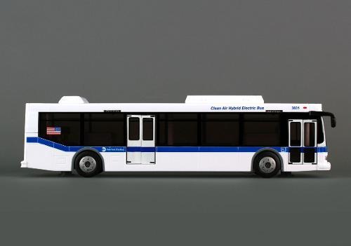 Autobus Mta New York City Bus Licencia Mta Marca Daron