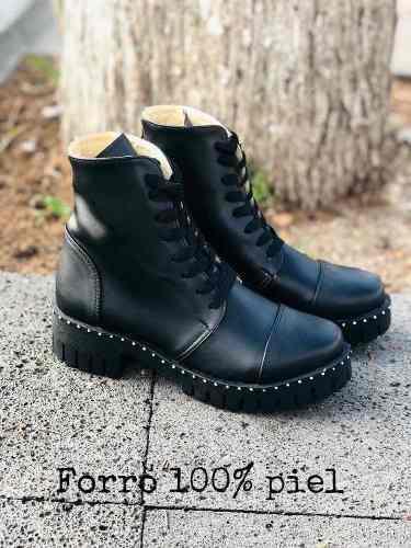 Bota Tipo Militar Negro