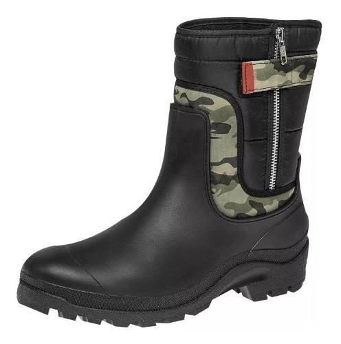 Botas De Hombre Con La Suela Impermeable Camuflaje Mx-1402
