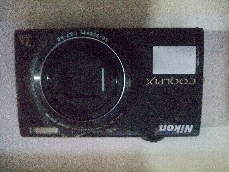 Cámara Nikon coolpix S