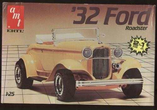 Ford 1932 2 En 1 Roadster Amt Esc 1/25 Modelo Nuevo