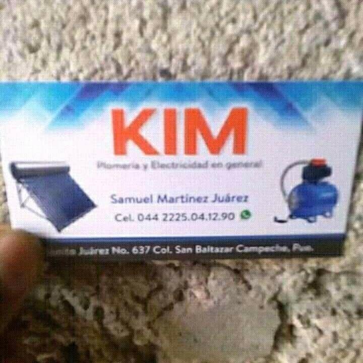 Plomería y electricidad en general kim