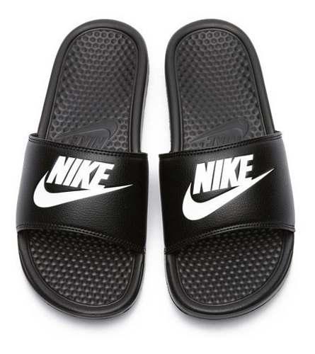 Sandalia Nike Benassi Jdi Negro Nuevas Originales Y En Caja