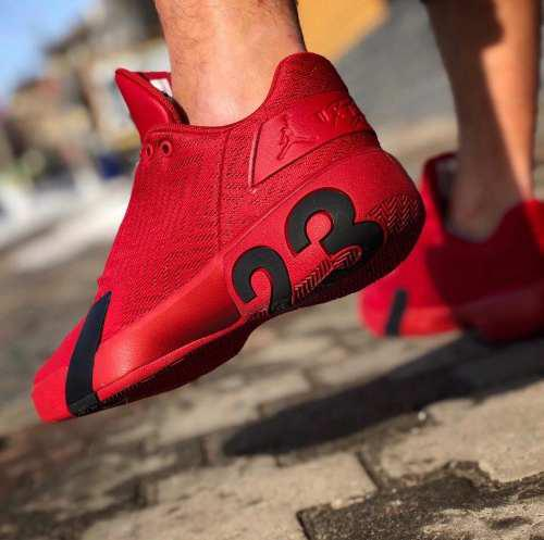 Tenis Jordan Ultra Fly Low 3 Rojo / Talla# 5 A La # 10 Mex