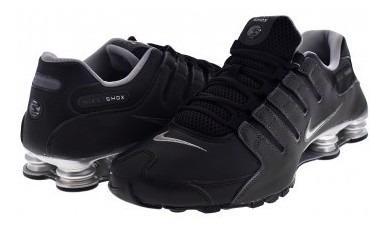 Tenis Nike 501524 024 Black/reflect Silver-anthrct Shox Nz E