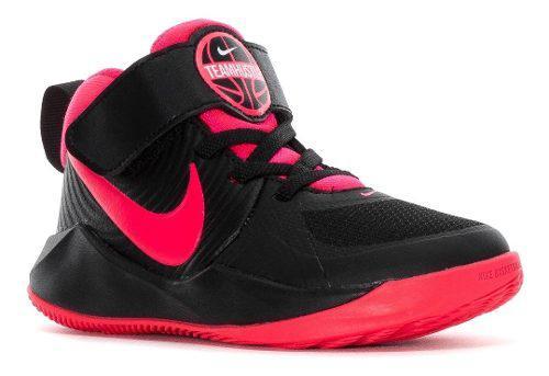 Tenis Nike Niñas Team Hustle D 9 Preescolar Basketball Orig
