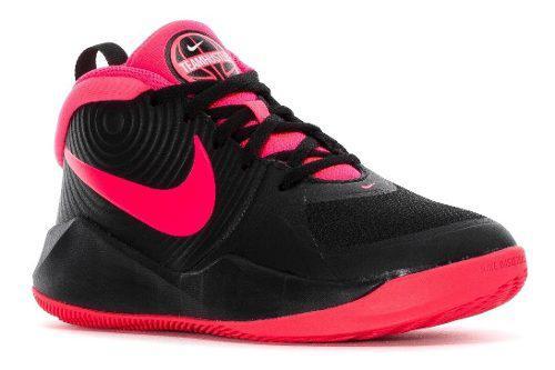 Tenis Nike Team Hustle Niñas D9 Aq4224-002