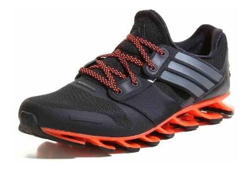 Tenis adidas Para Caballero Springblade Solyce Negro Naranja