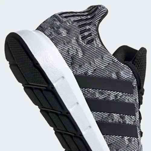 Tenis adidas Swift Run Gris Tallas:25,25.5 Y 27 Cm