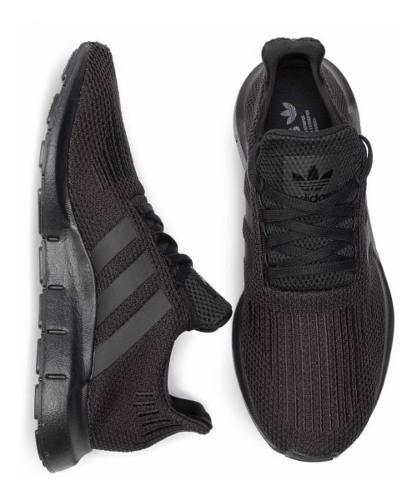Tenis adidas Swift Run Negro / #6 Al 9.5 Mx C/ Caja Original