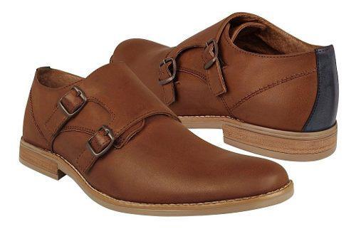 Zapato De Vestir Stylo Para Caballero Simipiel Café 929
