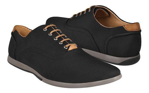 Zapatos Casuales Stylo 21-1 Textil Negro