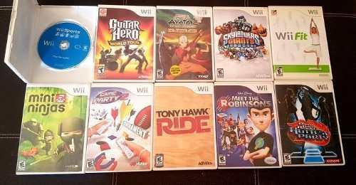 10 Juegos De Nintendo Wii En Buen Estado