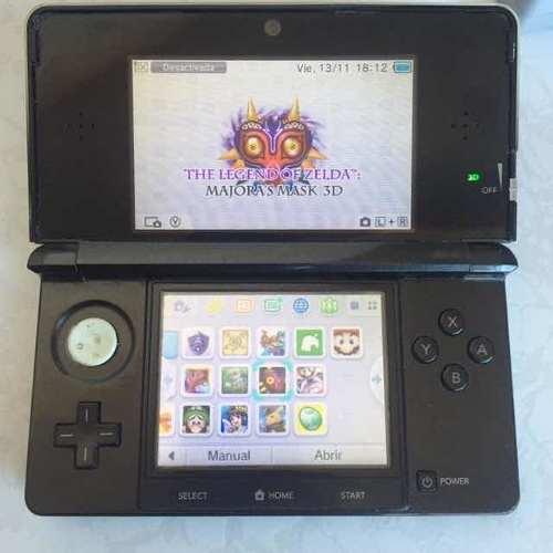Consola Nintendo 3ds Con Juegos Instalados Zeldas Pokémon