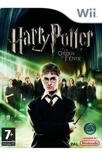 Harry Potter Y La Orden De Fénix Juego Nintendo Wii