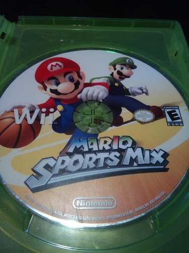 Juego De Mario Sports Mix, Para Wii.
