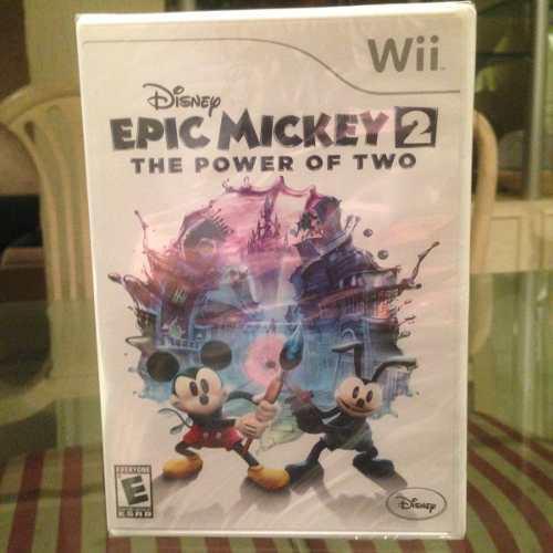 Juego Para Wii, Epic Mickey 2