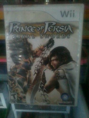 Juego Para Wii Prince Of Persia Rival Swords