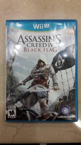 Juego Wii U Assasins Creed 4 Iv Black Flag