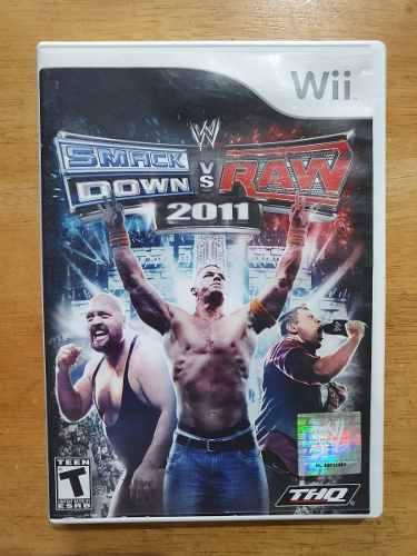 Juego Wii Wwe Smackdown Vs Raw 2011 Original Usado