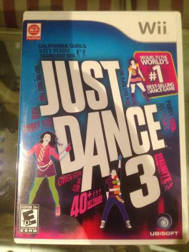 Just Dance 3 Video Juego Para Wii