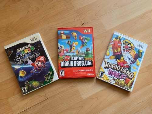 Kit De Juegos Para Nintendo Wii
